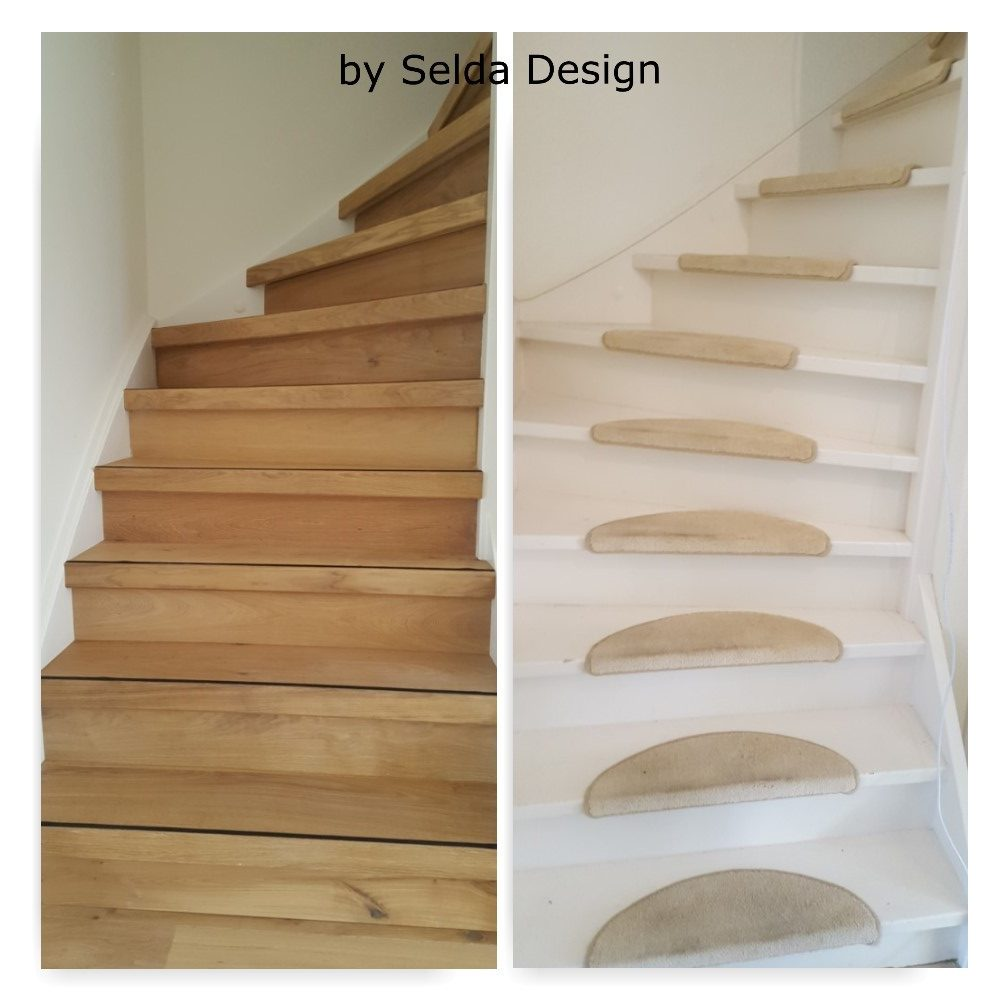 Selda Design Presents A Stair Renovation In Real Wood