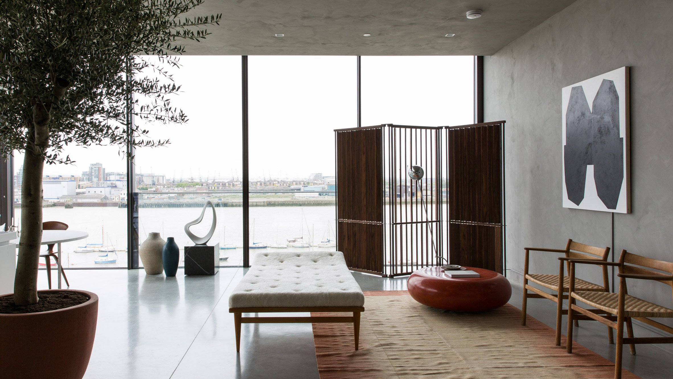 Design Magazine Cereal Has Teamed Up With Literate Estate Agents Aucoot To Create A Temporary Three Bedroom Penthouse Apartment On The Greenwich